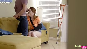 Pepper Hart is screaming from pleasure, to save her boyfriend knows no matter how to make her cum