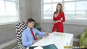 RealityKings - Heavy Tits Boss - Titties In Charge