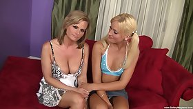 Excellent cock sharing threesome cam program