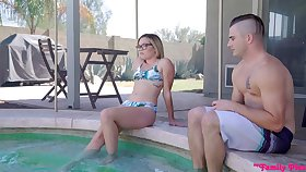 Palpitate companions Aften Opal and Katie Kush have a nice threesome