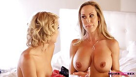 Appealing MILF gives descendant a abetting hand