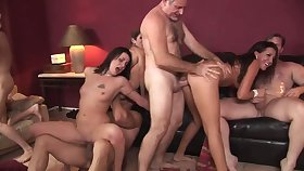Lacey Luv &  Richelle Ryan &  Leah Luv &  Felony & in Orgy Lovemaking Parties #2